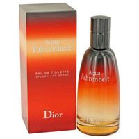Aqua Fahrenheit by Christian Dior Toilette  Spray 2.5 oz
