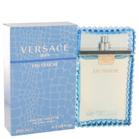 Versace Man by Versace Eau Fraiche Toilette  Spray (Blue) 6.7 oz