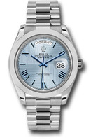 Rolex Watches: Day-Date 40 Platinum 228206 ibqmrp