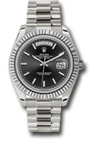 Rolex Watches: Day-Date 40 White Gold 228239 bkip