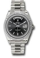 Rolex Watches: Day-Date 40 White Gold 228239 bkip