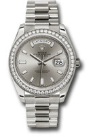 Rolex Watches: Day-Date 40 WG Diamond Bezel 228349RBR sbdp