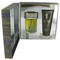 Copy of L'homme by Yves Saint Laurent Gift Set -- 3.4 oz Eau De Toilette Spray + 3.4 oz Shower Gel