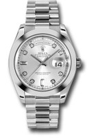Rolex Watches: Day-Date II President Platinum - Polished Bezel 218206 sdp