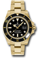 Rolex Watches: Submariner Gold 116618 bkd