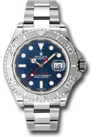Rolex Watches: Yacht-Master Steel and Platinum 116622 bl