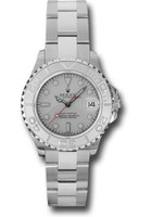 Rolex Watches: Yacht-Master Steel and Platinum 169622