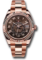 Rolex Watches: Sky-Dweller Everose Gold 326935 ch
