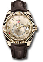 Rolex Watches: Sky-Dweller Yellow Gold 326138