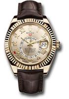Rolex Watches: Sky-Dweller Yellow Gold 326138