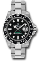 Rolex Watches: GMT-Master II Steel  116710LN