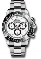 Rolex Watches: Daytona Steel 116500LN White