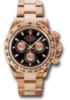 Rolex Watches: Daytona Everose Gold - Bracelet 116505 bk