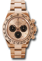 Rolex Watches: Daytona Everose Gold - Bracelet 116505 pbk