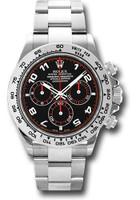 Rolex Watches: Daytona White Gold - Bracelet 116509 bk