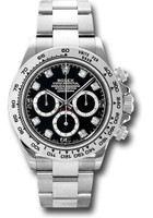 Rolex Watches: Daytona White Gold - Bracelet 116509 bkd