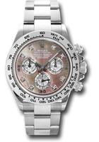 Rolex Watches: Daytona White Gold - Bracelet 116509 dkltmd