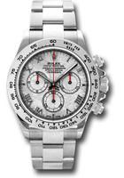 Rolex Watches: Daytona White Gold - Bracelet 116509 mt