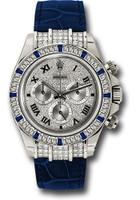 Rolex Watches: Daytona White Gold - Diamond Bezel 116599-12 SA