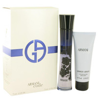 Armani Code by Giorgio Armani Gift Set -- 2.5 oz Eau De Parfum Spray + 2.5 oz Body Lotion