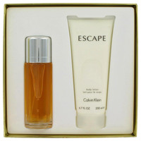 ESCAPE by Calvin Klein Gift Set -- 3.4 oz Eau De Parfum Spray + 6.7 oz Body Lotion