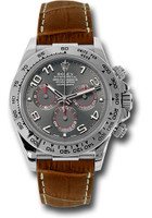 Rolex Watches: Daytona White Gold - Leather Strap 116519 grabr