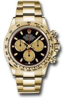 Rolex Watches: Daytona Yellow Gold - Bracelet 116508 bkchi