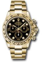 Rolex Watches: Daytona Yellow Gold - Bracelet 116508 bkd