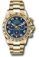 Rolex Watches: Daytona Yellow Gold - Bracelet 116508 bla