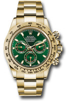 Rolex Watches: Daytona Yellow Gold - Bracelet  116508 gri