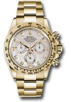 Rolex Watches: Daytona Yellow Gold - Bracelet  116508 md
