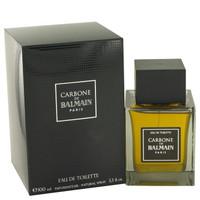 Carbone De Balmain by Pierre Balmain Eau De Toilette Spray 3.3 oz