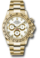 Rolex Watches: Daytona Yellow Gold - Bracelet 116508 wd