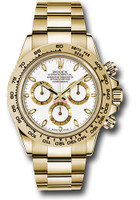 Rolex Watches: Daytona Yellow Gold - Bracelet 116508 wi