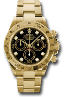 Rolex Watches: Daytona Yellow Gold - Bracelet 116528 bkd