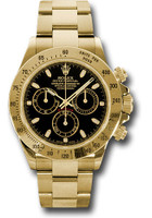 Rolex Watches: Daytona Yellow Gold - Bracelet 116528 bks