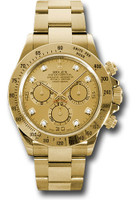 Rolex Watches: Daytona Yellow Gold - Bracelet 116528 chd