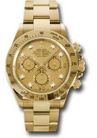 Rolex Watches: Daytona Yellow Gold - Bracelet 116528 chd