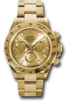 Rolex Watches: Daytona Yellow Gold - Bracelet 116528 chs