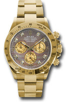 Rolex Watches: Daytona Yellow Gold - Bracelet  116528 dkym