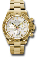 Rolex Watches: Daytona Yellow Gold - Bracelet 116528 ma