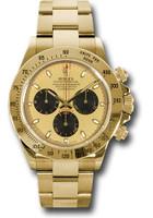 Rolex Watches: Daytona Yellow Gold - Bracelet 116528 pn
