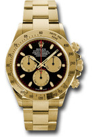 Rolex Watches: Daytona Yellow Gold Bracelet 116528 pnbk