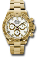 Rolex Watches: Daytona Yellow Gold - Bracelet 116528 wd
