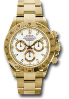Rolex Watches: Daytona Yellow Gold - Bracelet 116528 ws