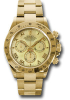 Rolex Watches: Daytona Yellow Gold - Bracelet 116528 ymr