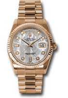 Rolex Watches: Day-Date President Pink Gold - Fluted Bezel - President 118235 mtdp