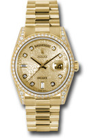 Rolex Watches: Day-Date President Yellow Gold - 52 Dia Bezel - Dia Lugs - President  118388 chjdp