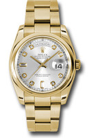 Rolex Watches: Day-Date President Yellow Gold - Domed Bezel - Oyster  118208 sdo