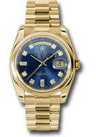 Rolex Watches: Day-Date President Yellow Gold - Domed Bezel - President 118208 bdp